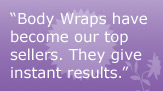 complete list of spa wraps and masques